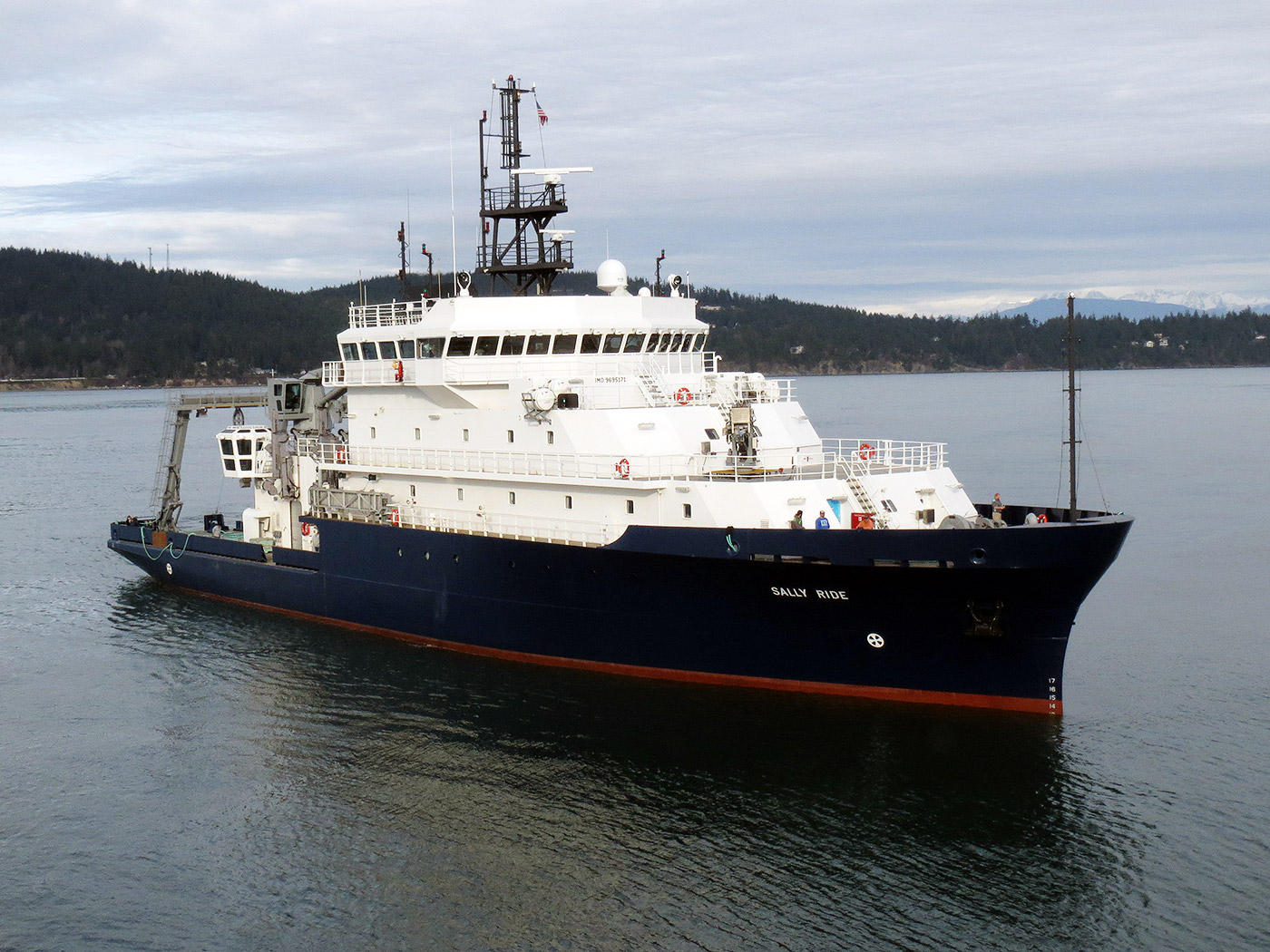 Auxiliary General Oceanographic Research Vessel built by Dakota Creek